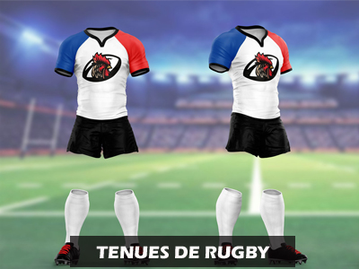 Catalogue Tenues de rugby